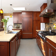 contemporary kitchen by Precision Cabinets & Trim
