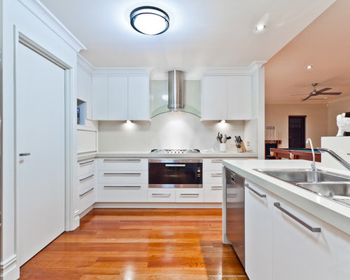 Open plan kitchen design ideas renovations photos for Adams cabinets perth