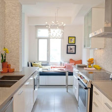 Contemporary Kitchen by Jessica Kelly Design