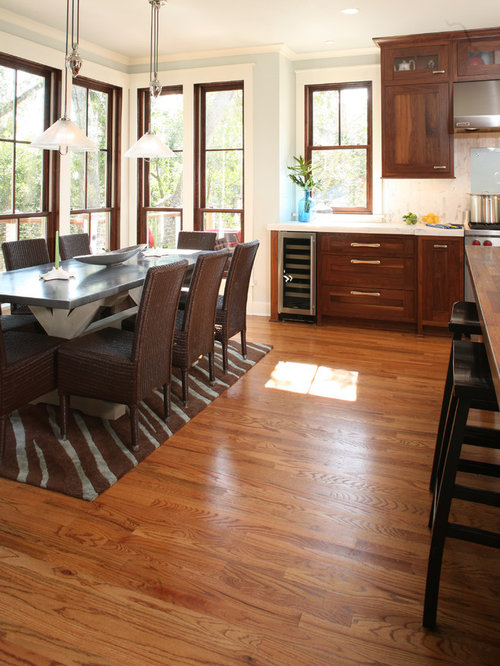 Stained and painted trim houzz for Stained or painted trim