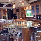 Bali House Tropical Kitchen Hawaii By Rick Ryniak