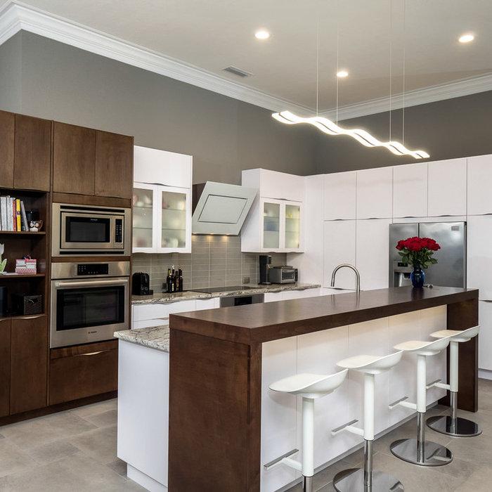 Contemporary Kitchen Remodel - Richmond, Gainesville, FL