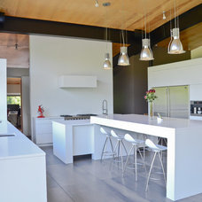 Contemporary Kitchen by Young Remodeling