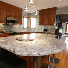 Traditional Kitchen by Interior Trends Inc. Design & Remodeling