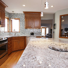Eclectic Kitchen by Interior Trends Inc. Design & Remodeling