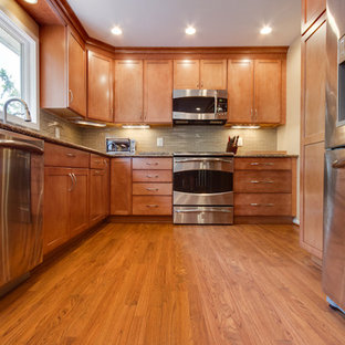 Maple Toffee Cabinets Houzz