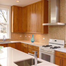 Contemporary Kitchen by Owner Principal of I.C. Corp / Homescape Design
