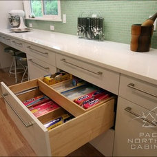Contemporary Kitchen by Pacific Northwest Cabinetry