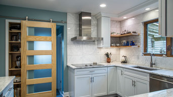 Contemporary Kitchen Remodel Redesign