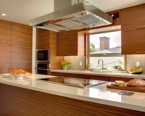 Walnut Veneer Cabinets Home Design Ideas Pictures Remodel And Decor