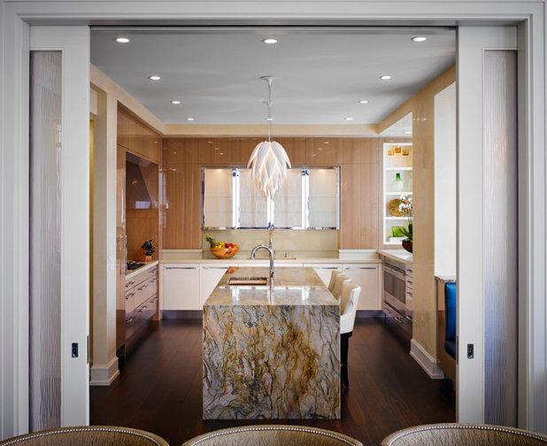 Stunning Contemporary Kitchen by Ren e Gaddis Interiors