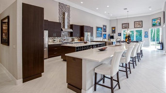 Contemporary Kitchen Renovation, Bocaire Country Club Remodel