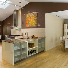 Contemporary Kitchen by Fisher Group LLC