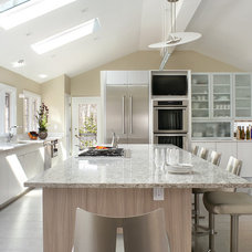 Contemporary Kitchen by Robert Legere Design