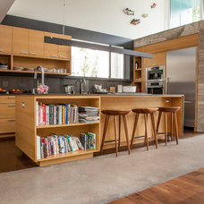 Contemporary Kitchen by Sarah Natsumi Moore