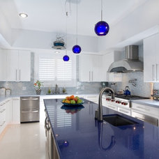 Contemporary Kitchen by Signature Kitchen and Bath of McAllen