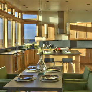 Contemporary kitchen inspiration - Kitchen - contemporary kitchen idea in Seattle