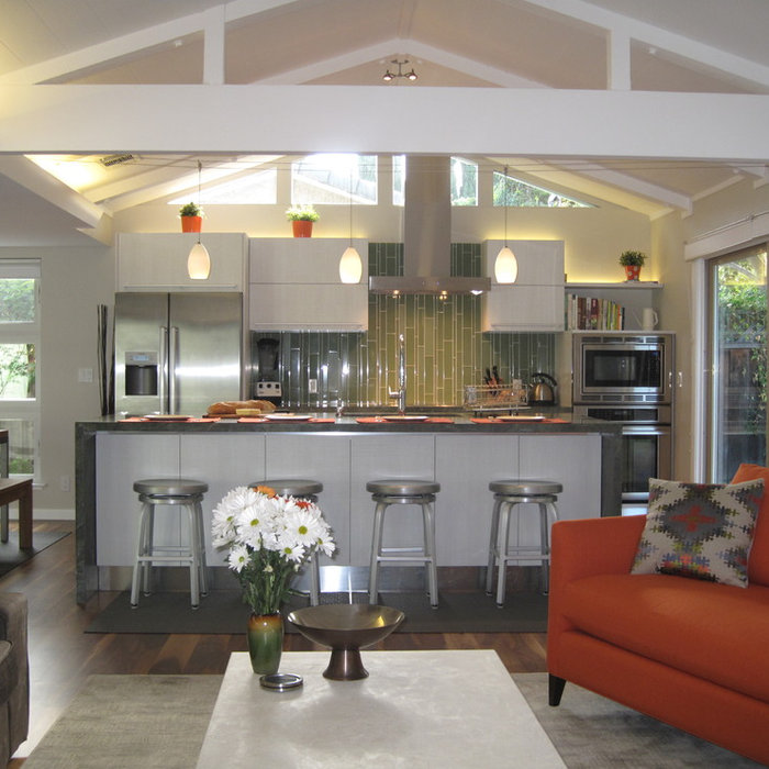 Kitchen Remodel Opens Up the House