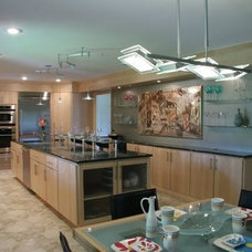 Contemporary Kitchen by Tangerine Designs Kitchens and Baths