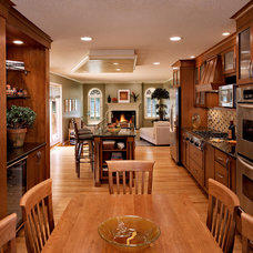 Transitional Kitchen by The Interior Edge