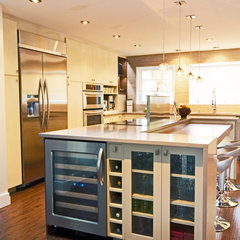 contemporary kitchen by TOC design