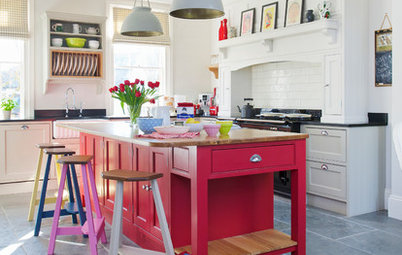 11 Ways to Perk up Kitchens With the Power of Paint