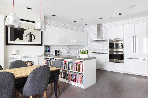 10 id es rangement pour stocker des livres de recettes dans la cuisine - Tafel petite cuisine ...