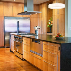 Contemporary Kitchen by Ventana Construction LLC