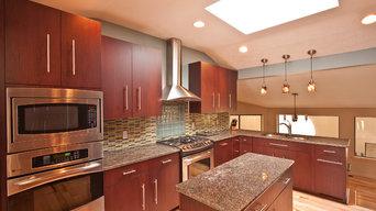 Contemporary Kitchen Williamsburg VA