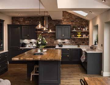 Contemporary Kitchen with Industrial Twist