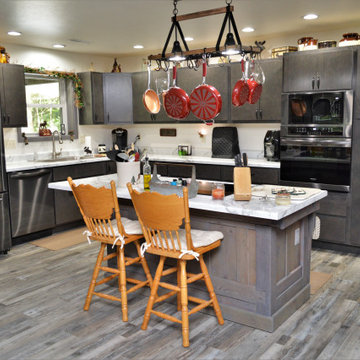 Contemporary Kitchen with Rustic Features. BaileyTown USA Select.