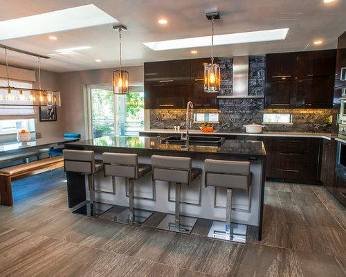 Man Cave Missoula : Contemporary kitchen with urban vibe missoula mt