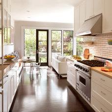 Transitional Kitchen by Jeff King & Company