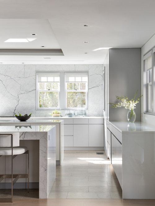 Flat Kitchen Designs: Contemporary Kitchen Design Ideas, Remodels & Photos With