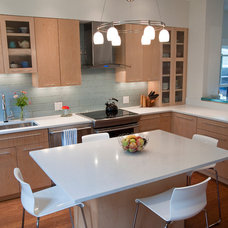 Contemporary Kitchen by Don Foote Contracting