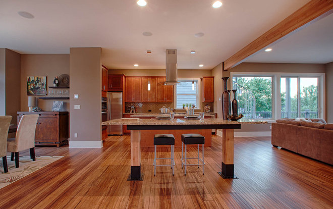 Contemporary Kitchen by Signature Custom Homes