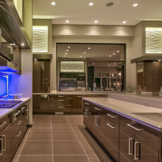 Contemporary Kitchen by Eurowood Cabinets, Inc
