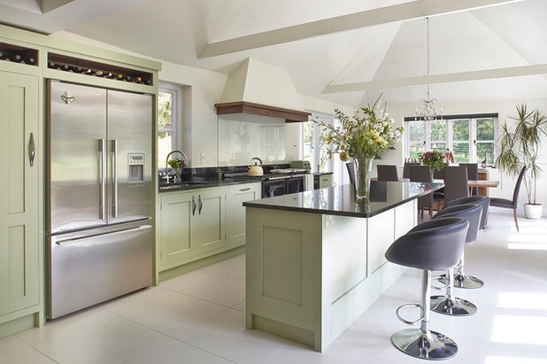 Transitional Kitchen by Figura Kitchens & Interiors