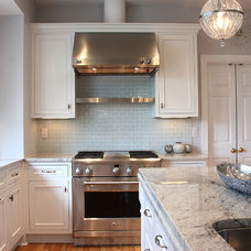 modern kitchen by NVS Remodeling & Design