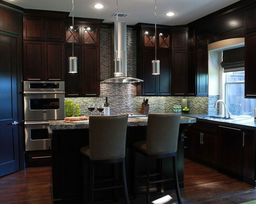 Espresso Kitchen Cabinets Home Design Ideas, Pictures, Remodel and Decor