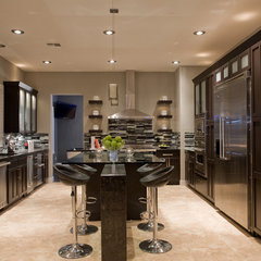 contemporary kitchen by Chris Jovanelly Interior Design