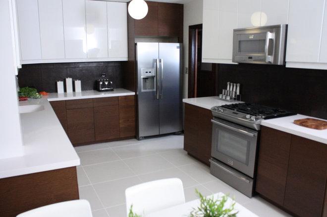 Contemporary Kitchen by Kelli Kaufer Designs