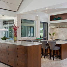 Contemporary Kitchen by Charles Clayton Construction Inc