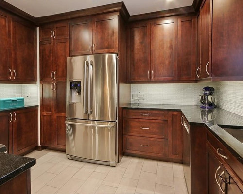 contemporary medium wood shaker cabinets in new york city - Kitchen Cabinets New York City