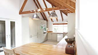 Contemporary Meets Country Kitchen