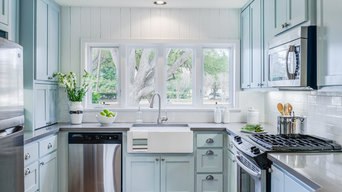 Contemporary Mid Century Kitchen Remodel