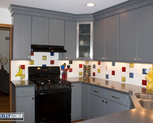 Cincinnati kitchen design ideas renovations amp photos with composite
