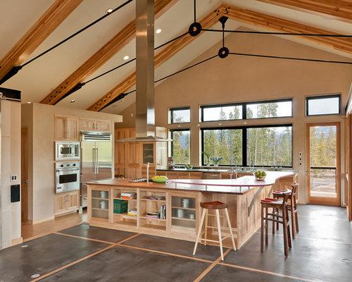 rustic kitchen.  https st hzcdn com fimgs e7613f470a0f64d4 9343 w
