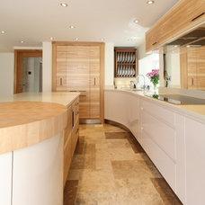 Contemporary Kitchen by Jamie Robins Handmade Furniture