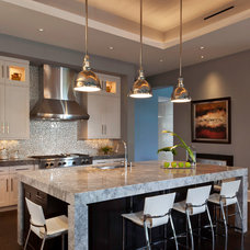 Contemporary Kitchen by Weber Design Group, Inc.
